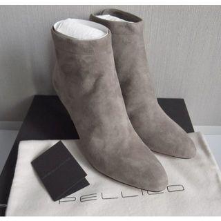 PELLICO - 【新品】PELLICO BACK ZIP SHORT BOOTS 37.5