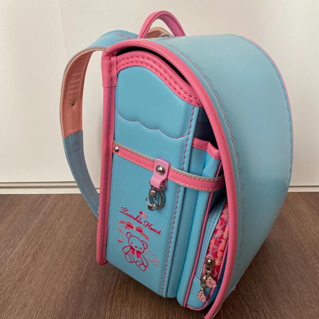 新品 国産ランドセル カザマランドセル 女の子 キッズ/ベビー/マタニティのこども用バッグ(ランドセル)の商品写真
