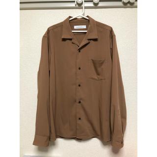 ユナイテッドアローズ(UNITED ARROWS)のユナイテッドアローズ オープンカラーシャツ サイズM 定価10000円(シャツ)