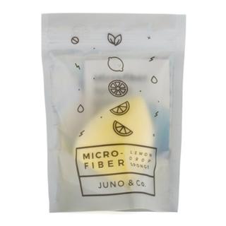 juno&co 正規品 マイクロファイバースポンジ  メイクスポンジ メイクパフ