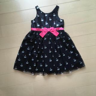 エイチアンドエム(H&M)のH&M ワンピース 100 ドレス フォーマル 白鳥(ドレス/フォーマル)