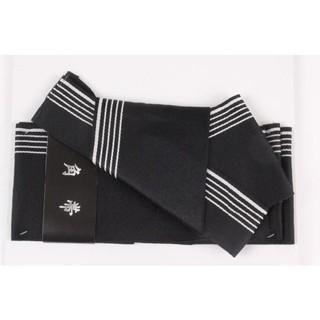 ワンタッチ角帯 浴衣、着物 ストレッチ素材 S2 黒 新品未使用(浴衣帯)