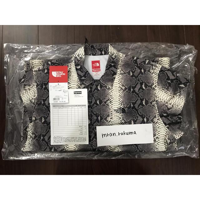Supreme(シュプリーム)の美品 Supreme North Face スネーク コーチ ジャケット 蛇 メンズのジャケット/アウター(ナイロンジャケット)の商品写真