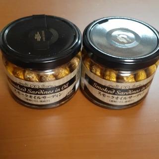 カルディ(KALDI)のオイルサーディン 2瓶(缶詰/瓶詰)