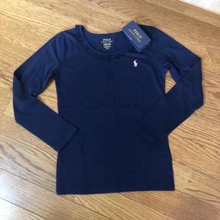 ポロラルフローレン(POLO RALPH LAUREN)の新品 ラルフローレン  カットソー 140cm(Tシャツ/カットソー)