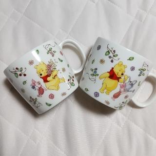 Disney - プーさん&ピグレット マグカップ 2個セット