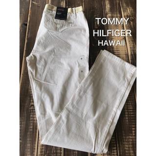 トミーヒルフィガー(TOMMY HILFIGER)のTOMMY HILFIGER パンツベルト付き 新品タグ付き(カジュアルパンツ)