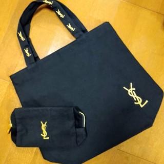 Yves Saint Laurent Beaute - イヴサンローランノベルティトートバッグ&ポーチの新品未使用品2点セット