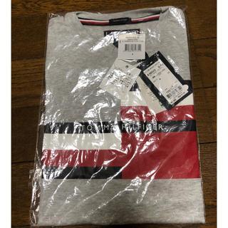 トミーヒルフィガー グラフィックロゴTシャツ グレー 130