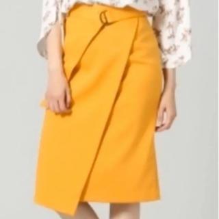 ブリスポイント(BLISS POINT)の[均一SALE] ベルト付き タイトスカート(ひざ丈スカート)