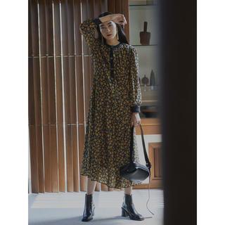 アメリヴィンテージ(Ameri VINTAGE)のAMERI MIA VINTAGE FLOWER DRESS(ロングワンピース/マキシワンピース)