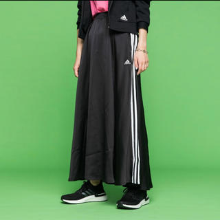 アディダス(adidas)の新品タグ付き アディダス マストハブスカート Lサイズ(ロングスカート)