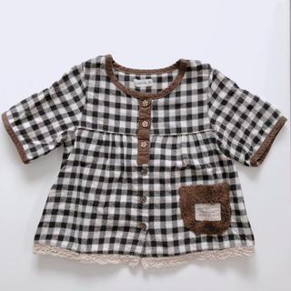 ビケット(Biquette)の80 子供服 子ども 女の子 服 秋冬 (シャツ/カットソー)