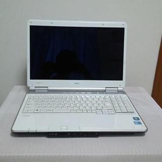 NEC - ジャンク!きれい!NEC PC-LL550WJ1BW・16インチ・Core i3