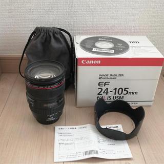 Canon - 【最終値下げ】CANON 24-105mm F4 L IS USM  美品