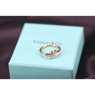 Tiffany & Co. - Tiffany & Co. ファニーT字リング リング(指輪)