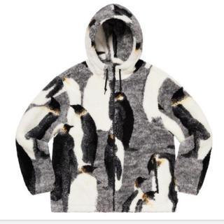 シュプリーム(Supreme)のsupreme penguins hooded fleece jacket (ブルゾン)