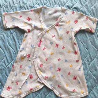 ホットビスケッツ(HOT BISCUITS)のホットビスケッツ 短肌着 コンビ肌着 新生児(肌着/下着)
