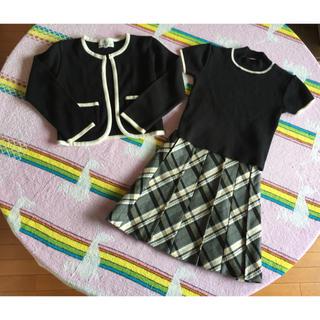 クミキョク(kumikyoku(組曲))のクミキョク 組曲 フォーマル スーツ 3点セット M(110-120)(ドレス/フォーマル)