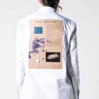 ラフシモンズ(RAF SIMONS)のRaf Simons 17ss PVCポケットシャツ(シャツ)
