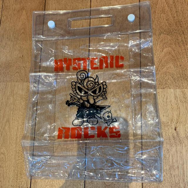 HYSTERIC MINI(ヒステリックミニ)のヒスミニ ビニール バック キッズ/ベビー/マタニティのこども用バッグ(その他)の商品写真