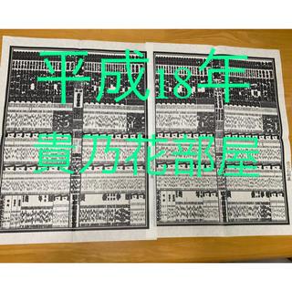 貴乃花部屋 番付表  平成18年 相撲 大相撲(相撲/武道)