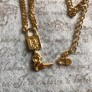 Christian Dior - クリスチャン・ディオール  南京錠  ネックレス