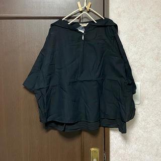 サマンサモスモス(SM2)の新品 セーラー衿重ね着風ブラウス(シャツ/ブラウス(半袖/袖なし))