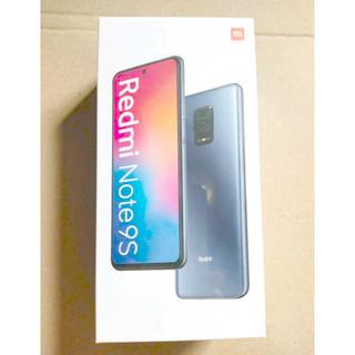 ANDROID - Xiaomi Redmi Note9S 4+64GB ホワイト【新品・未開封】