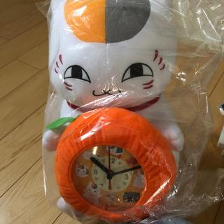 ハクセンシャ(白泉社)のにゃんこ先生 ぬいぐるみ 時計 一番くじ(キャラクターグッズ)
