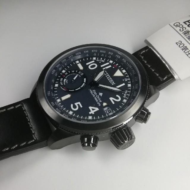 CITIZEN(シチズン)のシチズン プロマスター F150 CC3067-11L GPS衛星電波 メンズの時計(腕時計(アナログ))の商品写真