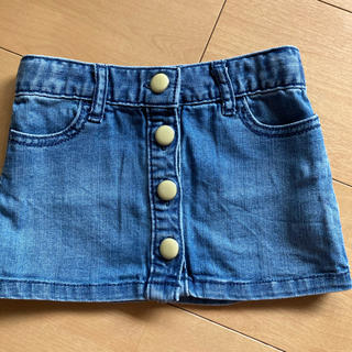 ベビーギャップ(babyGAP)のデニムスカート 80サイズ(スカート)