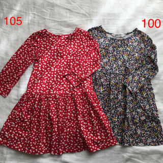 H&M - H&M*baby Gap ワンピースセット☆100 105