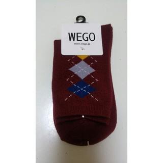 ウィゴー(WEGO)の新品 アーガイル柄靴下 レディース(ソックス)