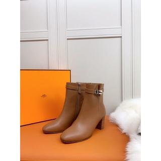 Hermes - HERMES ブーツ  22.5-25.5cm