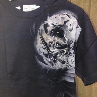 カラクリタマシイ(絡繰魂)の絡繰魂 Tシャツ 紺色(Tシャツ/カットソー(半袖/袖なし))