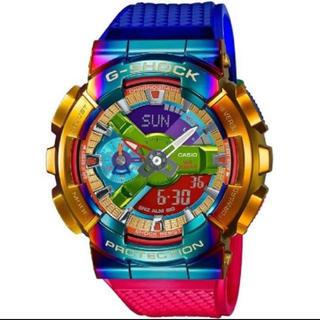 ジーショック(G-SHOCK)のCASIO Gショック カシオ腕時計メタルカバーラインGM-110RB-2AJF(腕時計(アナログ))