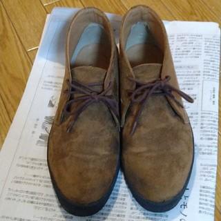メルロー(merlot)の最終価格 メルロー スエードローファー ショートブー(ローファー/革靴)