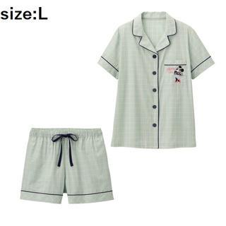 ジーユー(GU)の【最終値下/新品未使用タグ付】GU パジャマ(半袖)Disney1+X ミニー(パジャマ)