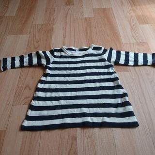ムジルシリョウヒン(MUJI (無印良品))の無印良品 チュニック 90(Tシャツ/カットソー)