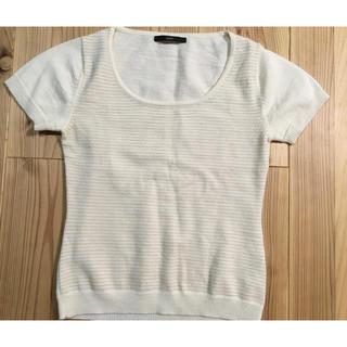 半袖シャツ 毛、アクリル素材(Tシャツ(半袖/袖なし))