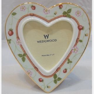 ウェッジウッド(WEDGWOOD)の廃盤 WEDGWOOD ワイルドストロベリー フォトフレーム(フォトフレーム)