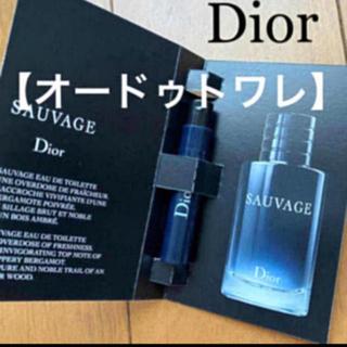 クリスチャンディオール(Christian Dior)の【オードゥトワレ】ディオール 香水 ソヴァージュ サンプル 1ml 新品未使用(香水(男性用))