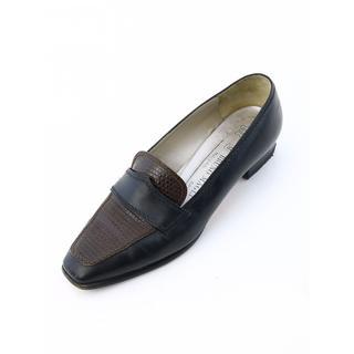 ブルーノマリ(BRUNOMAGLI)のブルーノマリ ローファー 23.5cm 本革(ローファー/革靴)