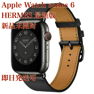 Apple Watch - 【新品】Apple Watch HERMES series 6 40 ブラック