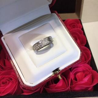 Cartier - カルティエ ラブリング WG ダイヤ 14号 レディース 指輪