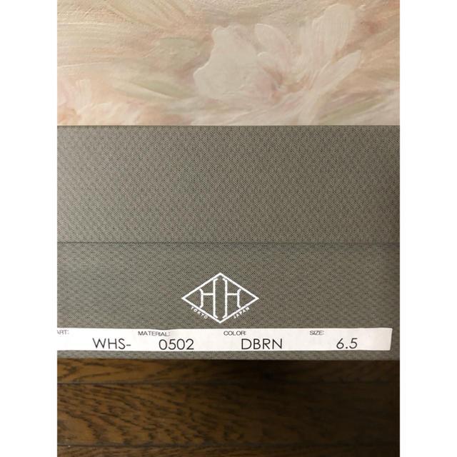 DRESSTERIOR(ドレステリア)の新品未使用 ダブルエイチ WH タッセルローファー 干場義雅 6,5 24,5 メンズの靴/シューズ(ドレス/ビジネス)の商品写真