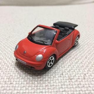 フォルクスワーゲン(Volkswagen)のフォルクスワーゲン ニュービートル カブリオレ 1/57 ミニカー オレンジ(ミニカー)