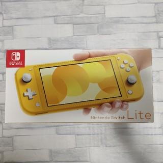 ニンテンドースイッチ(Nintendo Switch)のNintendo Switch LITE イエロー ニンテンドー スイッチライト(携帯用ゲーム機本体)