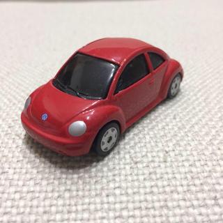 フォルクスワーゲン(Volkswagen)のフォルクスワーゲン ニュービートル ミニカー レッド 赤 New Beetle(ミニカー)